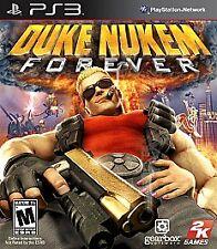 Duke Nukem Forever (Sony, Playstation 3) PS3 Video Game 3D Glasses + Rare Poster