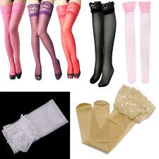 bianca Coppia di calze sexy di design merletto alla moda sexy per le donne L5C4