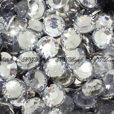 Crystal Clear 1000pcs Resin RhinestonesBeads Flat Back Nail Art Craft Gems