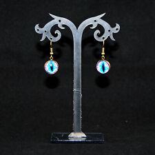 Ohrringe Dragon Eye Katzenauge Ohrhänger Drache Gothic Fantasy Farbwahl Auge