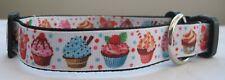 Cupcake per collare cani o piombo fatto a mano cucciolo carino dolce torte Multi Colore