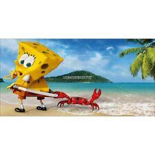 Adesivi stanza di bambino testa de letto Bob l'spongebob ref 8491