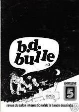 BD BULLE n°3. Revue du Salon d'Angoulême. GOTLIB. 1978 - Neuf