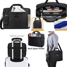 """15.6"""" Zipper Laptop Shoulder Bag Business Messenger Handbag Briefcase F Dell HP"""