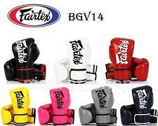 FAIRTEX BOXING GLOVES BGV14 8,10,12,14,16 OZ SPARRING  FIGHTING MUAY THAI MMA K1