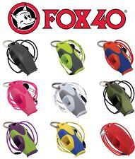 Fox 40 Sharx Whistle Rescue Safety Referee Alert Marine Free Lanyard Best Value!