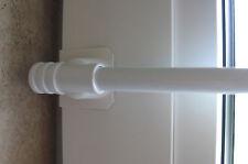 Tringle à Rideaux Extensible Fix-KLICK Pour Diverses Fenêtre Largeurs Blanc