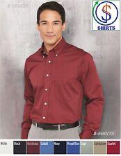 Van Heusen - Long Sleeve Baby Twill Shirt - 13V0521 - 13V0384-Slim Fit