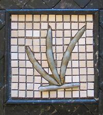 Marble Tile Mosaic Backsplashed Kitchen 6x6 3D Greenbeandeaf vegetable # 906