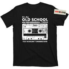 Cassette tape pencil boombox headphones mixtape old school DJ deejay tee T Shirt