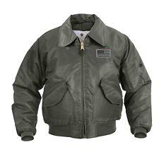 CWU-45P Flight Jacket THIN GREEN LINE Border Patrol Park Rangers Sheriff LEO ICE