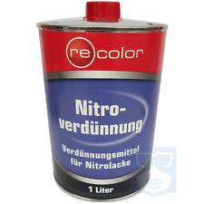 Recolor 1L/3L/5L Nitroverdünnung Reiniger Kunstharzlack für Autolack Nitrolack