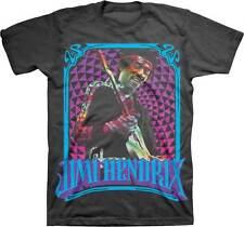 JIMI HENDRIX - Fractal Frame - T SHIRT S-M-L-XL-2XL Brand New Official T Shirt