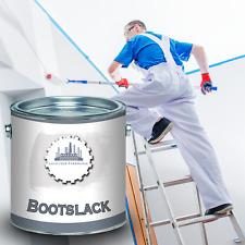 Lausitzer Farbwerke Bootsfarbe Weiß Yachtlack 2,5L 5L 10L 20L RAL 9010 Weiss
