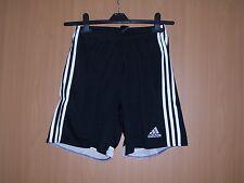 6a0de7f8340075 Adidas Shorts kurze Sporthose mit Innenhose schwarz Grösse 128 140 152 164  neu