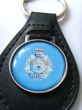 Western Australien Polizei Leder Schlüsselanhänger Geschenk