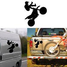 Motrocross trial sticker on vinyl cutting - Pegatina vinilo motocross - cross
