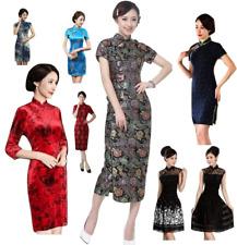 Women Chinese Dress Qipao Cheongsam Traditional Costume Various Style