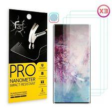 For Samsung Galaxy Note 10 Plus TPU Soft HD Fingerprint Unlock Screen Protector