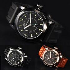 44mm Parnis GMT Automatic Mechanical Men Watch Sapphire Crystal Luminous Marker
