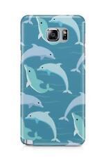 Aquatic Mar Océano AGUA ANIMALES Delfín Funda para teléfono Diseño