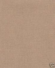 Fat Quarter 28 Count Coffee Evenweave Cross Stitch Fabric - 50cm x 55cm