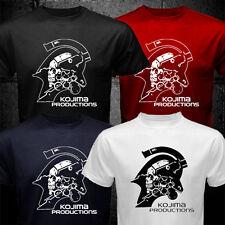 New Metal Gear Hideo Kojima Productions Studio Japan T-shirt