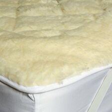 100% Natural Wool Pile Mattress Enhancer Single Double,King,Superking