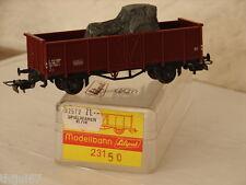 LILIPUT ( 231 50 ) WAGON TOMBEREAU TRANSPORT D'UN TRACTEUR SOUS BACHE / BOITE HO