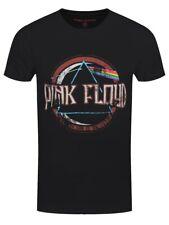 Pink Floyd T-shirt Dark Side Of The Moon Vintage Men's Black