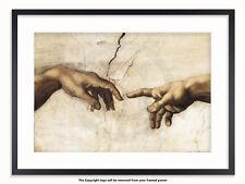 Leonardo Da Vinci - Creation of Life - Hands - Maxi Poster