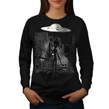 Alien Ghost vie Femmes Sweatshirt NOUVEAU | wellcoda