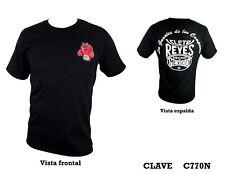 Cleto Reyes Nero Cotone T-shirt