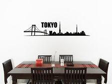 TOKYO horizonte Cuarto De Estar Comedor Cocina Dormitorio ADHESIVO pared imagen