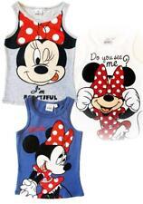 Canotta Bimba Minnie Mouse, Abbigliamento Disney Topolina *23365