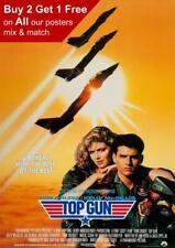 Top Gun 1986 Movie Poster A5 A4 A3 A2 A1
