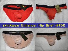 "skinXwear #154 L (34 -36"") PUSH-UP Enhancer Hip Brief ~many cols. ~FREE Shipping"