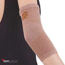 Compression Elbow Support Sleeve Bandage Strain Sprain Injury Elastic Brace