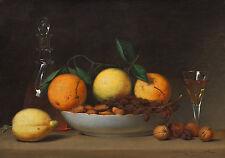 "Raphaelle Peale : ""A Dessert"" (1814) — Giclee Fine Art Print"