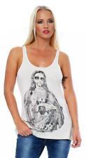 IRON FIST Damen Top T-Shirt Shirt  Baby Jesus A-Line Tank
