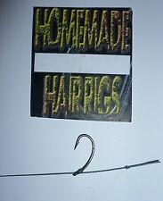 5 Carp KD capelli Rigs top di gamma PTFE coatedhooks Varie Taglie, Pesca Carpa