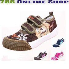enfants chaussures décontractées (25A) en toile chaussons TAILLE 30-35 NEUF