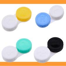 Kontaktlinsen Box Behälter Dose - Reisen Aufbewahrung Linsen Set Reinigung Case