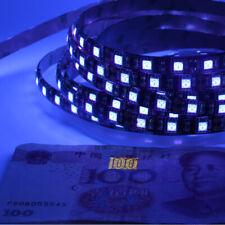 5m UV Purple LED Strip Light for Camp Fishing Boat Show Ultraviolet Black Light