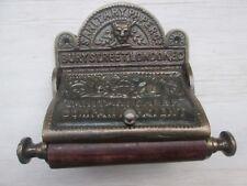 Hierro Fundido Rústico Antiguo Retro Vintage Victoriano baño portarrollos