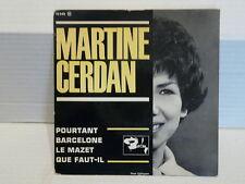 MARTINE CERDAN Pourtant / Barcelone .. 70548