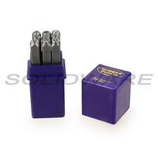 Schlagzahlen Set 2 - 12mm DIN1451 9-teilig Größe wählbar