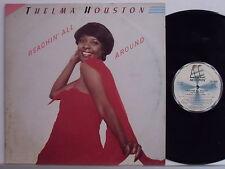 THELMA HOUSTON disco LP REACHIN ALL AROUND made in ITALY 1982 STAMPA ITALIANA