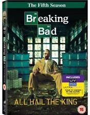BREAKING BAD COMPLETE SERIES 5 DVD Brand New Sealed Season UK Release