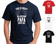Esto es lo que un impresionante Papa parece-Divertido Broma Camiseta día del padre